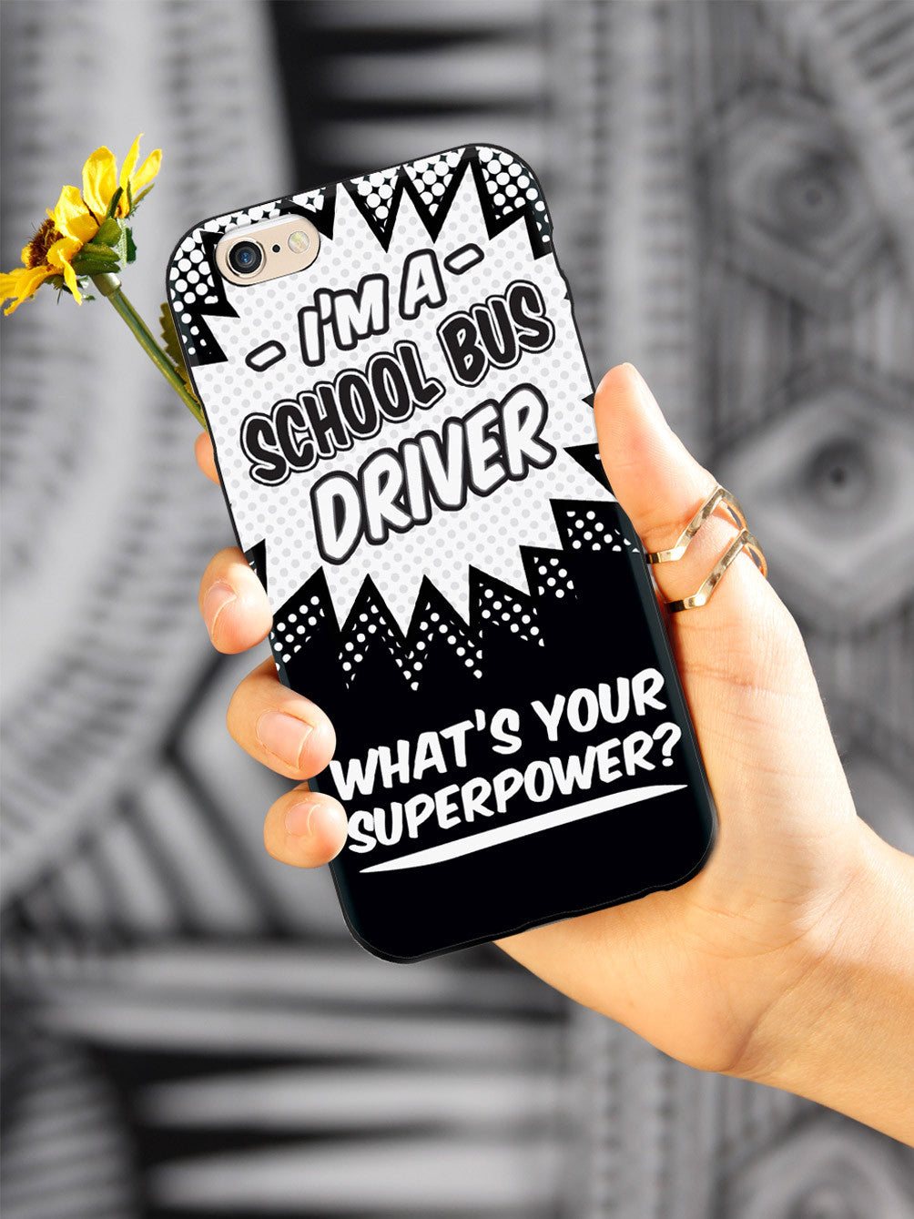 School Bus Driver - What's Your Superpower? Case