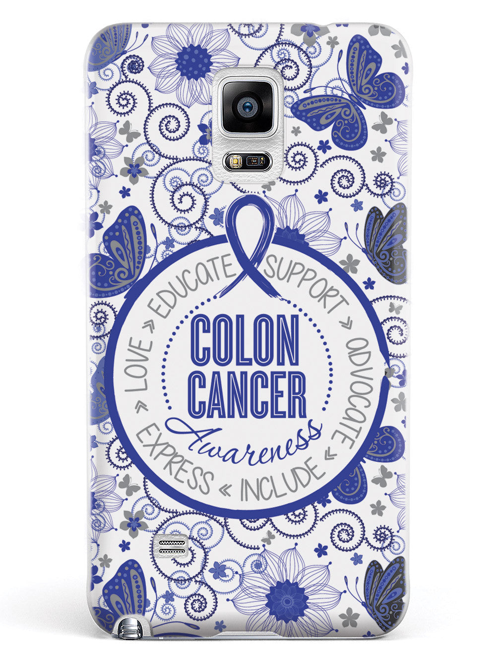 Colon Cancer - Butterfly Pattern Case