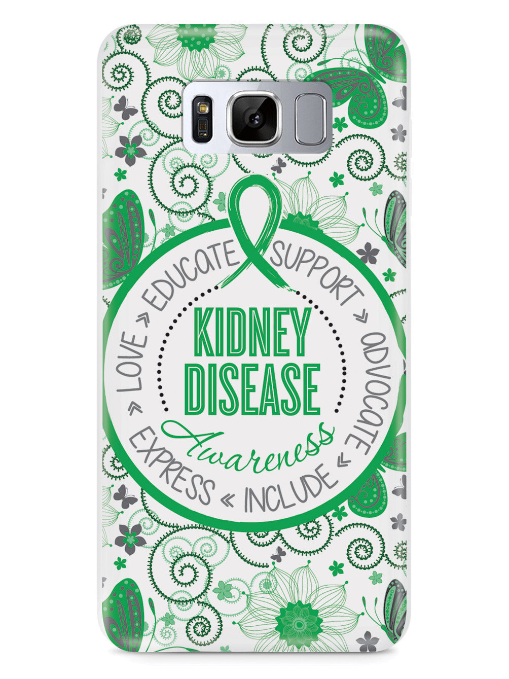 Kidney Disease - Butterfly Pattern Case