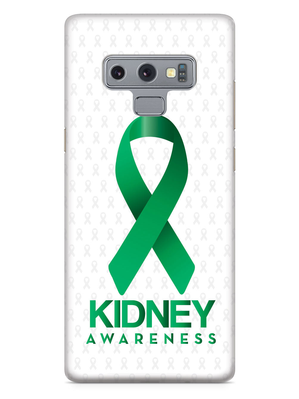 Kidney Awareness - Awareness Ribbon - White Case