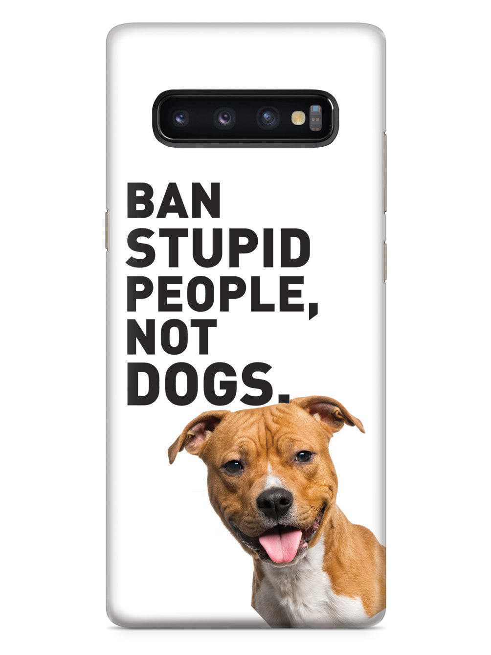 Ban Stupid People, Not Dogs - Pitbull Case