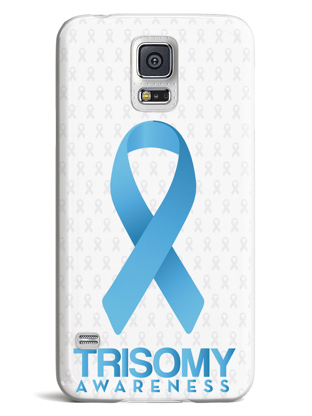 Trisomy Awareness - Awareness Ribbon - White Case