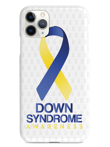 Down Sydrome - Awareness Ribbon - White Case
