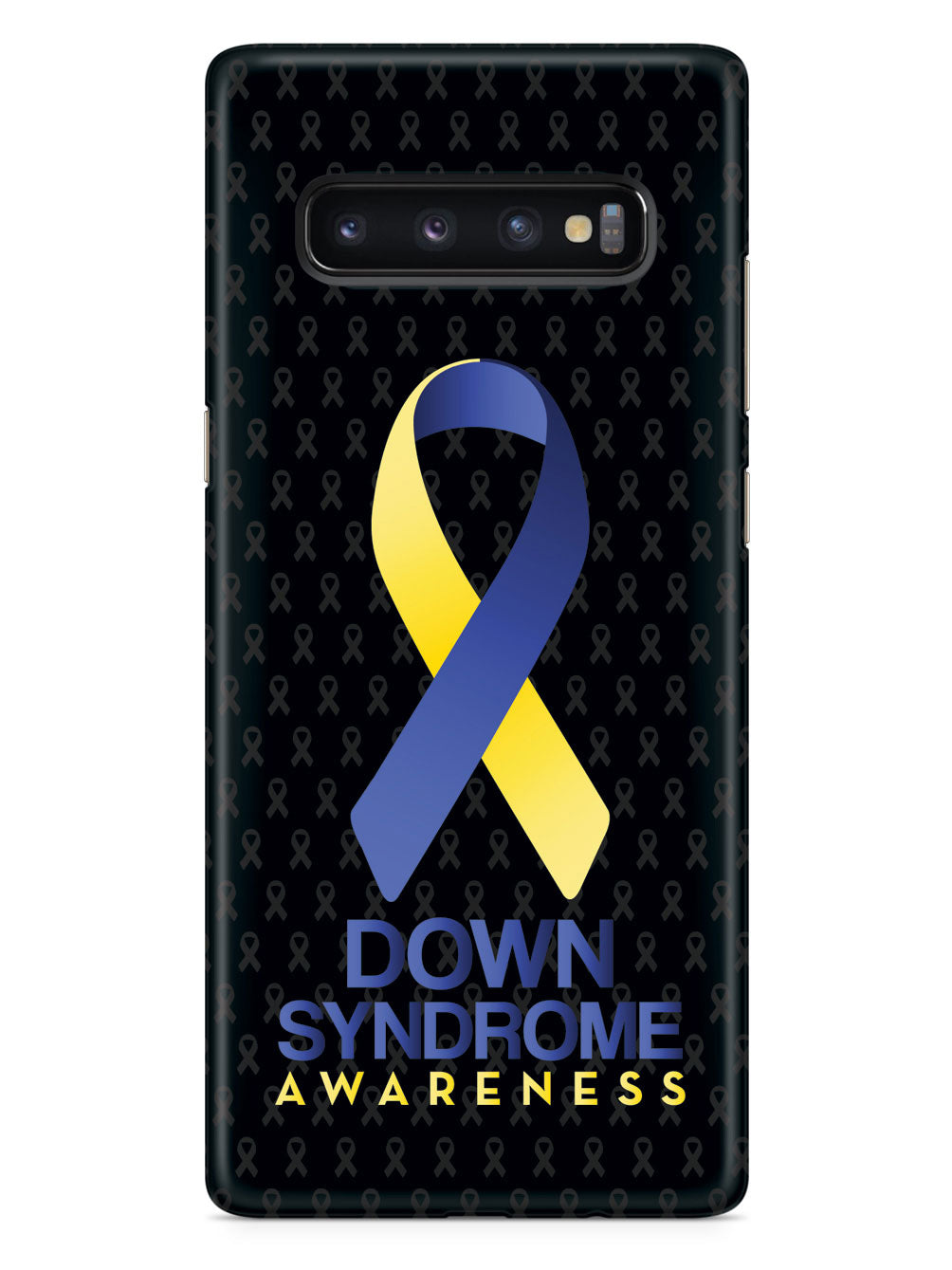 Down Sydrome - Awareness Ribbon - Black Case