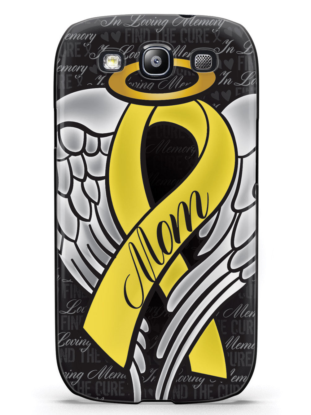 In Loving Memory of My Mom - Yellow Ribbon Case