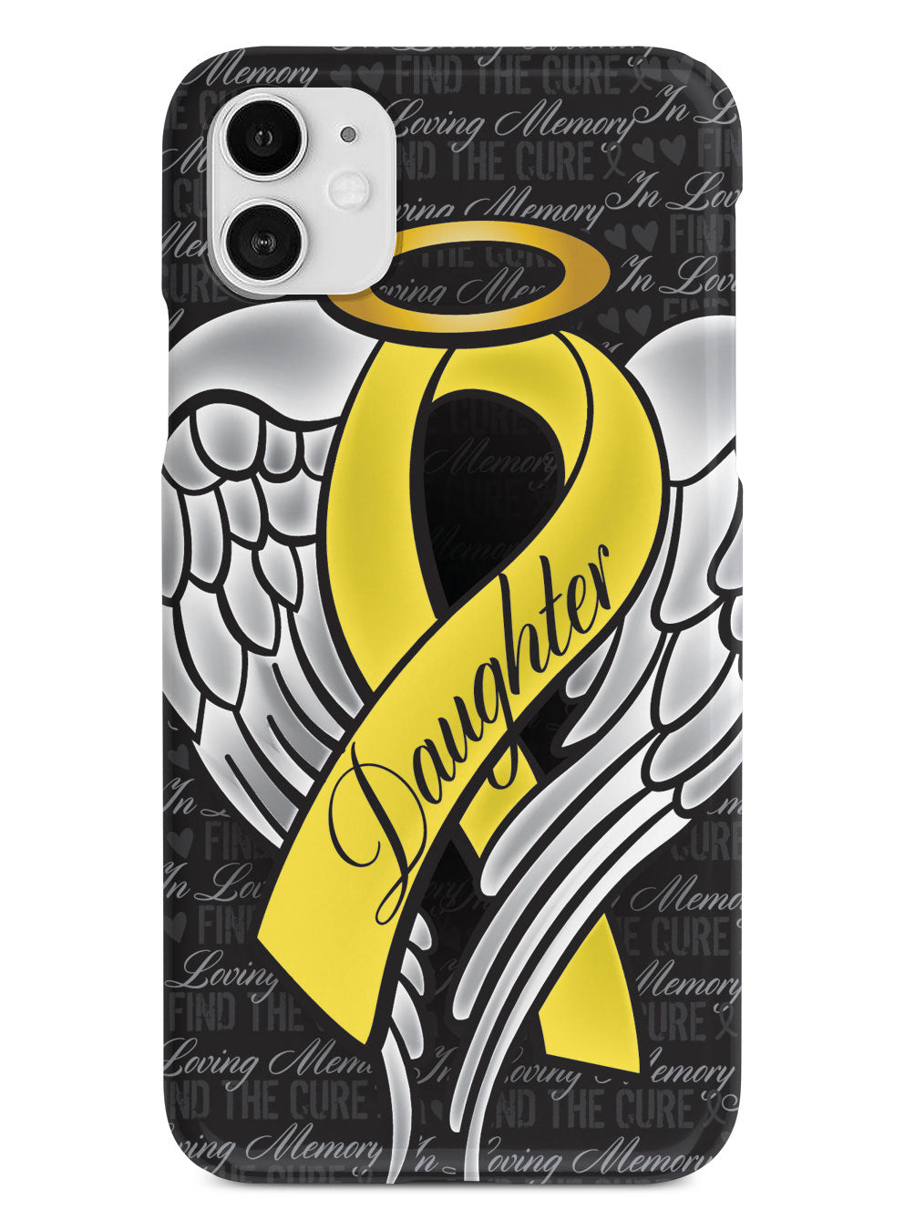 In Loving Memory of My Daughter - Yellow Ribbon Case