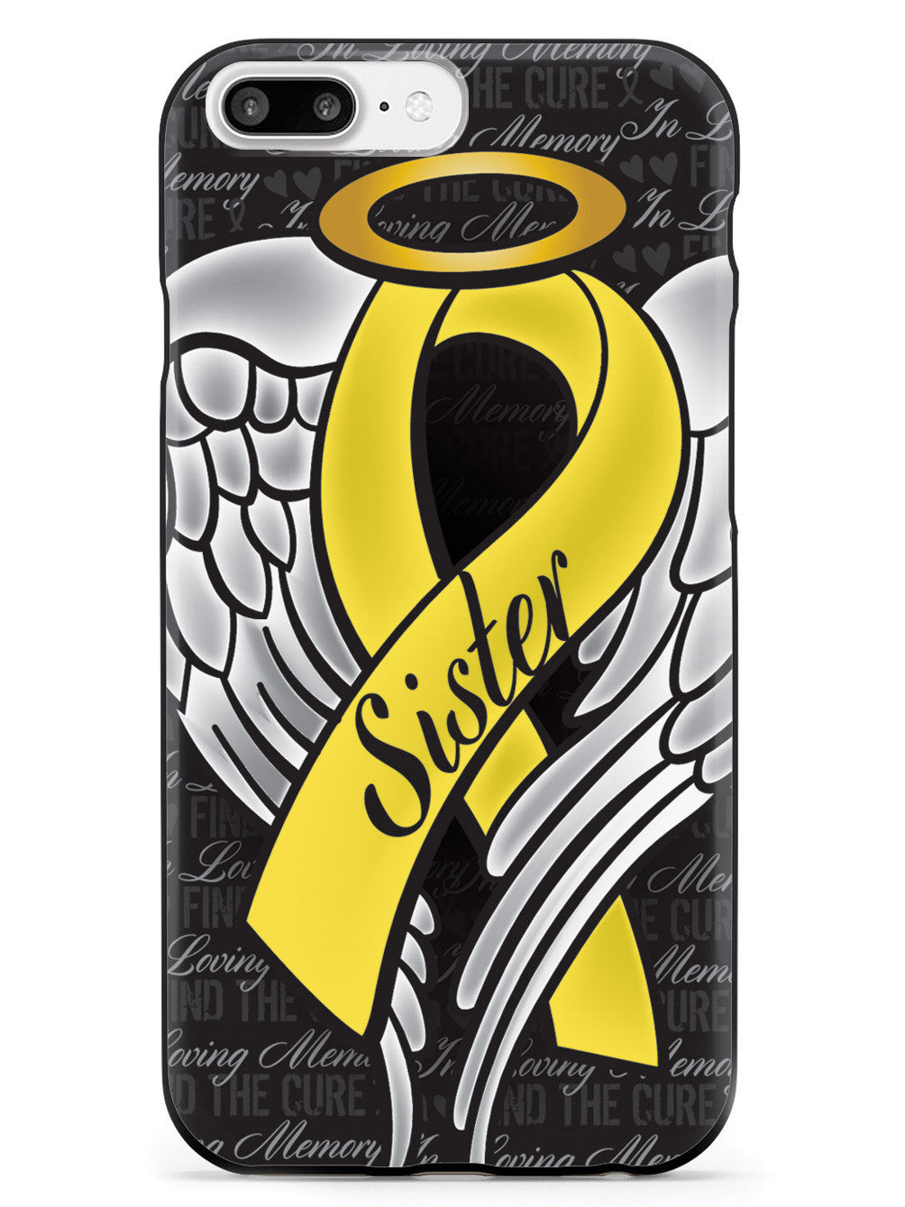 In Loving Memory of My Sister - Yellow Ribbon Case