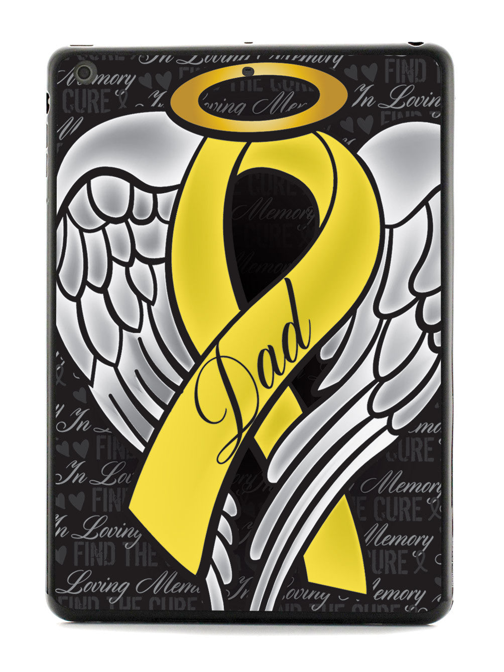 In Loving Memory of My Dad - Yellow Ribbon Case