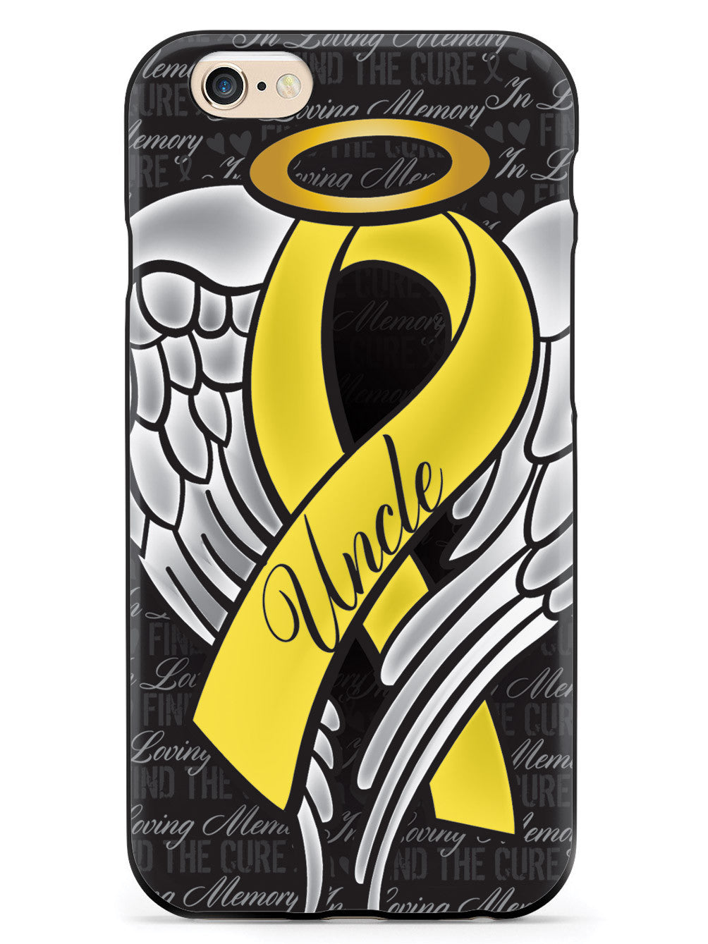 In Loving Memory of My Uncle - Yellow Ribbon Case