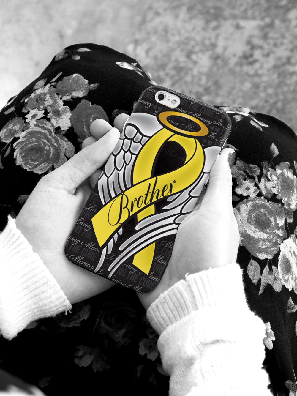 In Loving Memory of My Brother - Yellow Ribbon Case