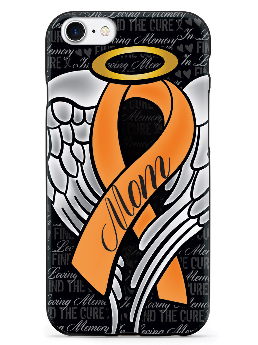 In Loving Memory of My Mom - Orange Ribbon Case