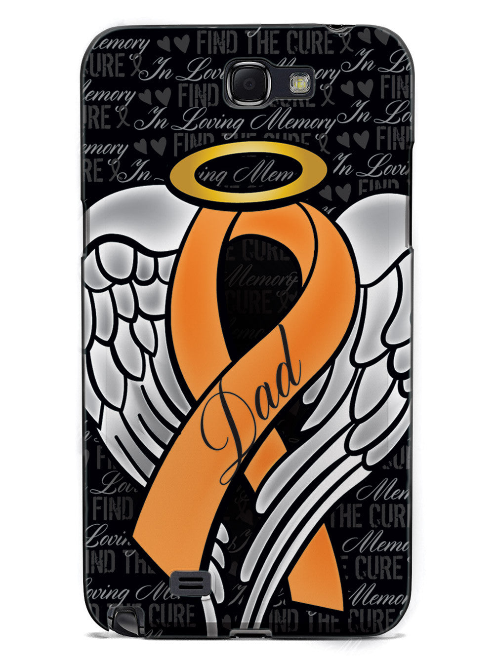 In Loving Memory of My Dad - Orange Ribbon Case