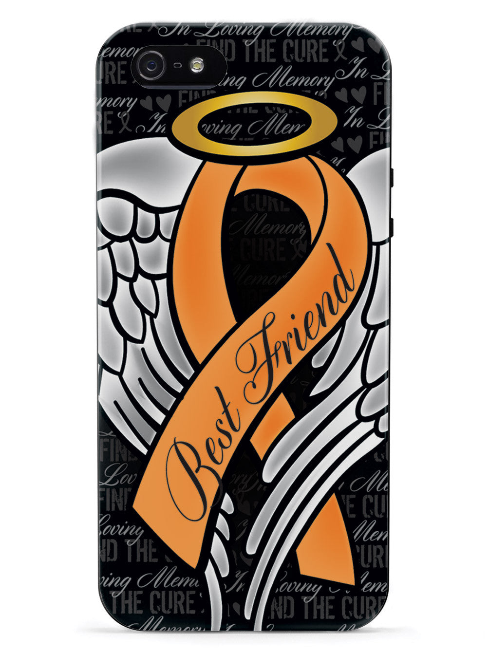 In Loving Memory of My Best Friend - Orange Ribbon Case