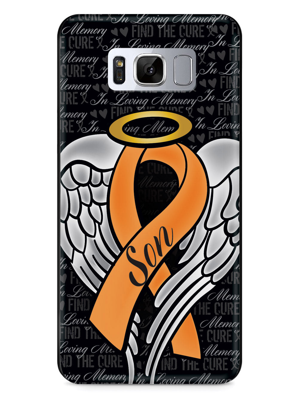 In Loving Memory of My Son - Orange Ribbon Case