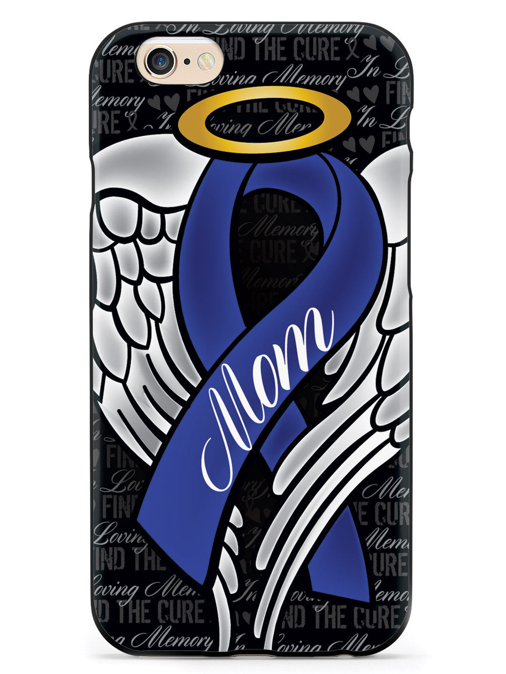 In Loving Memory of My Mom - Blue Ribbon Case