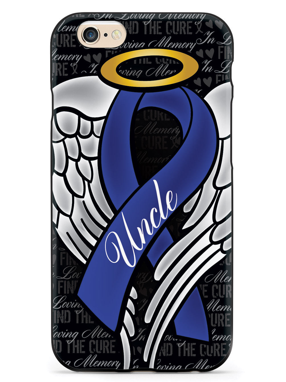 In Loving Memory of My Uncle - Blue Ribbon Case