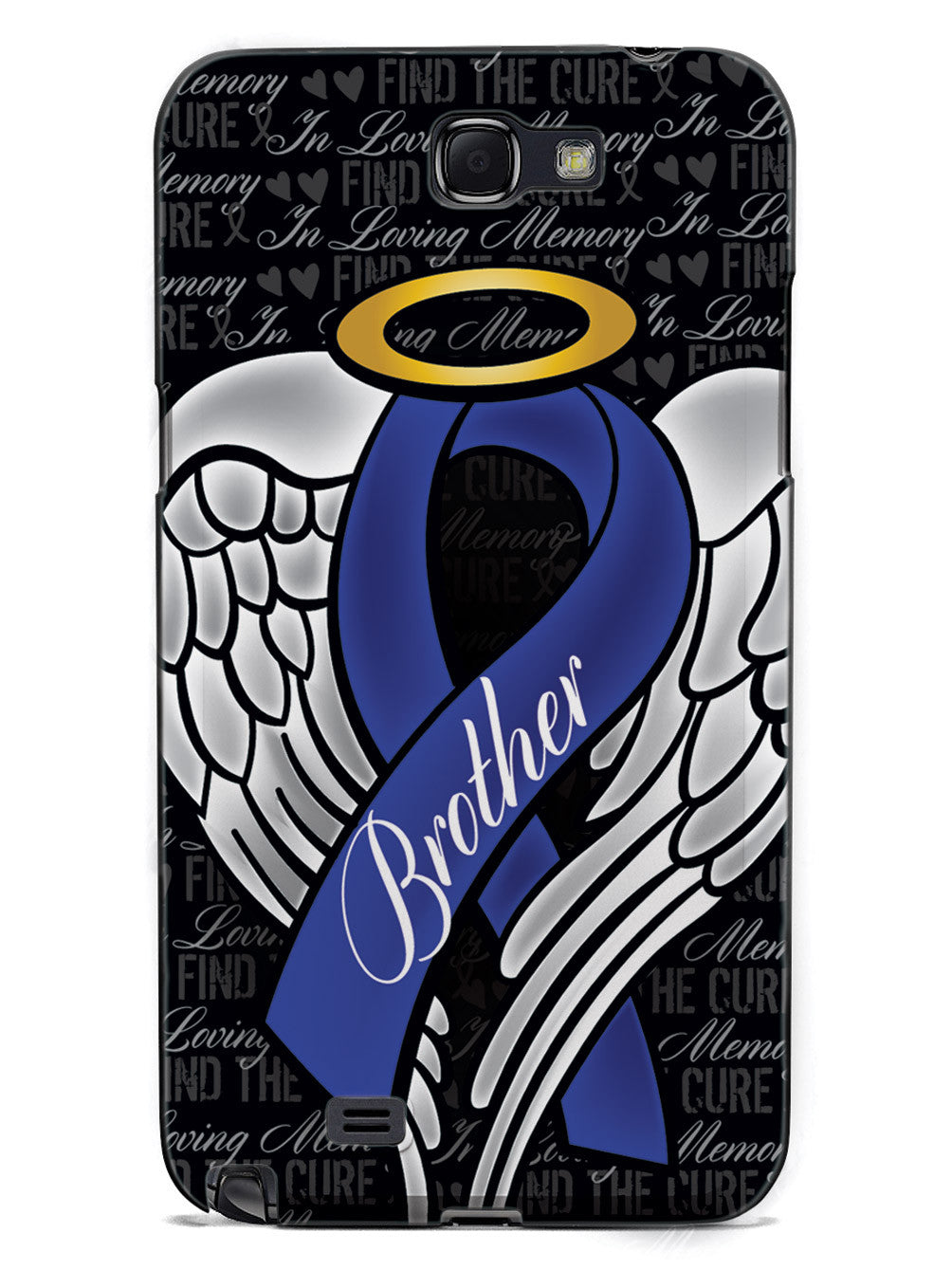 In Loving Memory of My Brother - Blue Ribbon Case