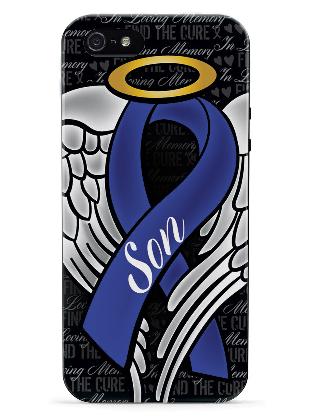 In Loving Memory of My Son - Blue Ribbon Case