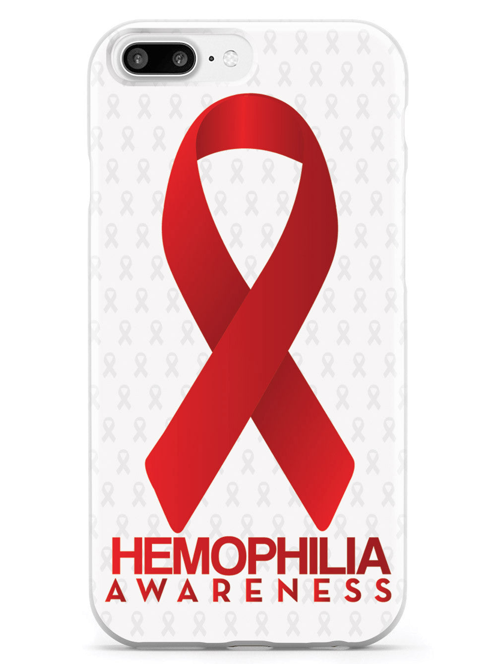 Hemophilia - Awareness Ribbon - White Case