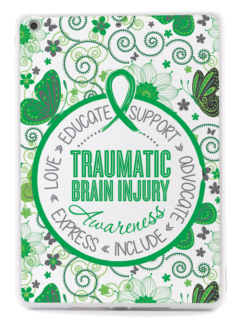 Traumatic Brain Injury - Butterfly Pattern Case