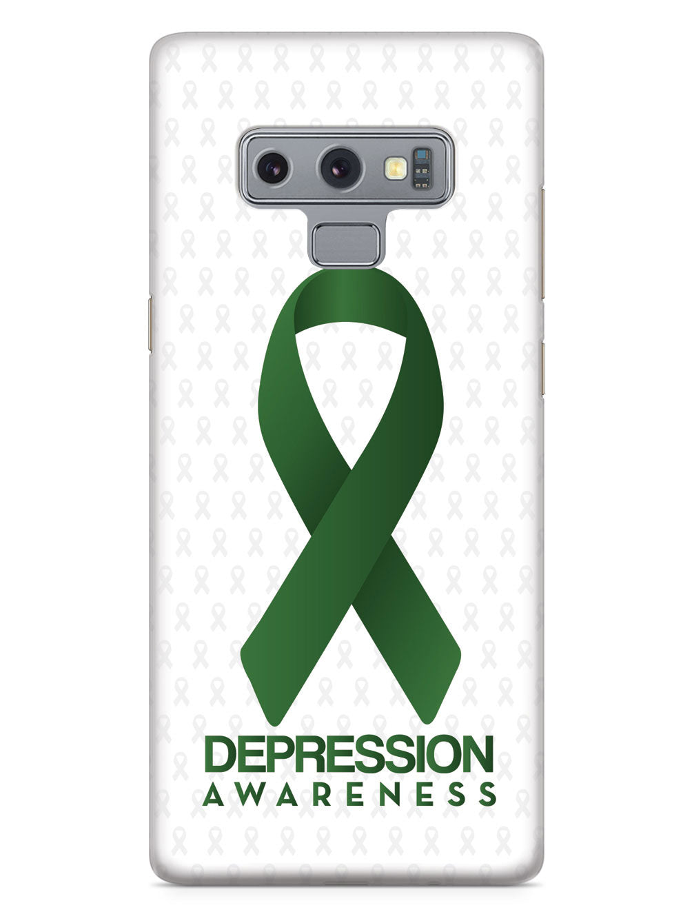Depression - Awareness Ribbon - White Case