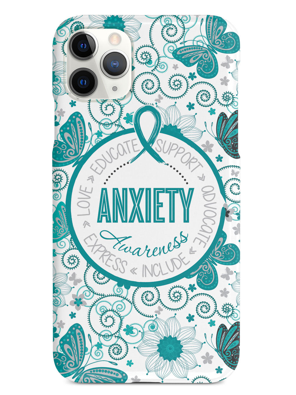 Anxiety - Butterfly Pattern Case