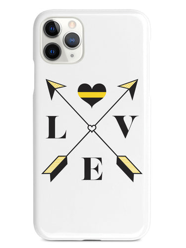 Love Arrow Cross - Thin Gold Line - Dispatch Case