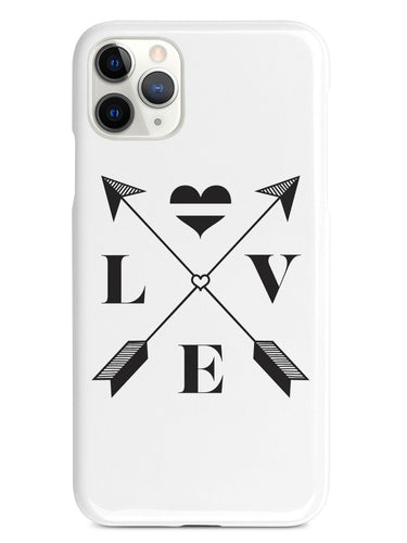 Love Arrow Cross - Thin White Line - EMS Case