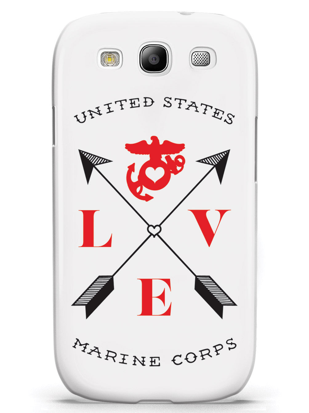 Love Arrow Cross - U.S. Marine Corps Case