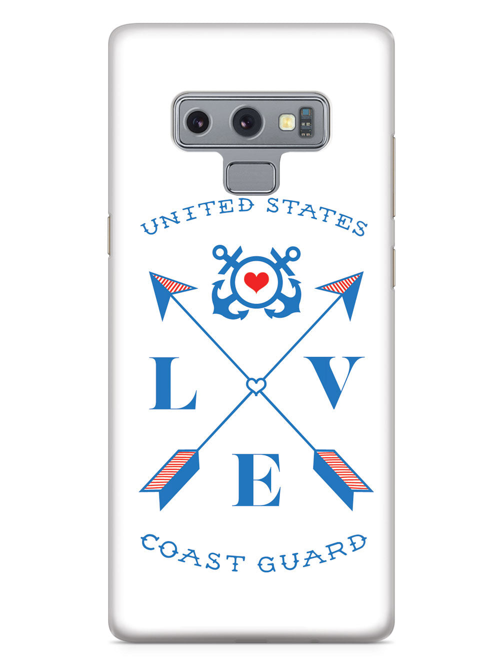 Love Arrow Cross - U.S. Coast Guard Case
