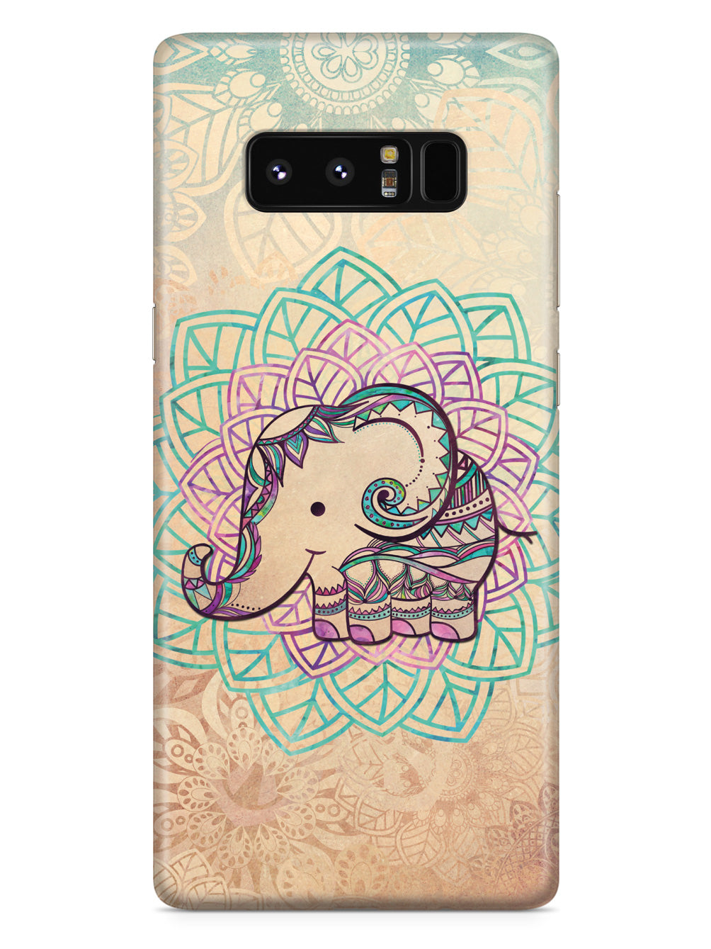 Tribal Mandala Baby Elephant Case
