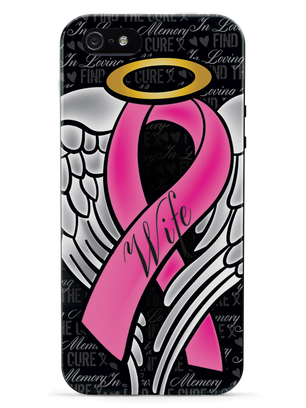 In Loving Memory of My Wife - Pink Ribbon Case