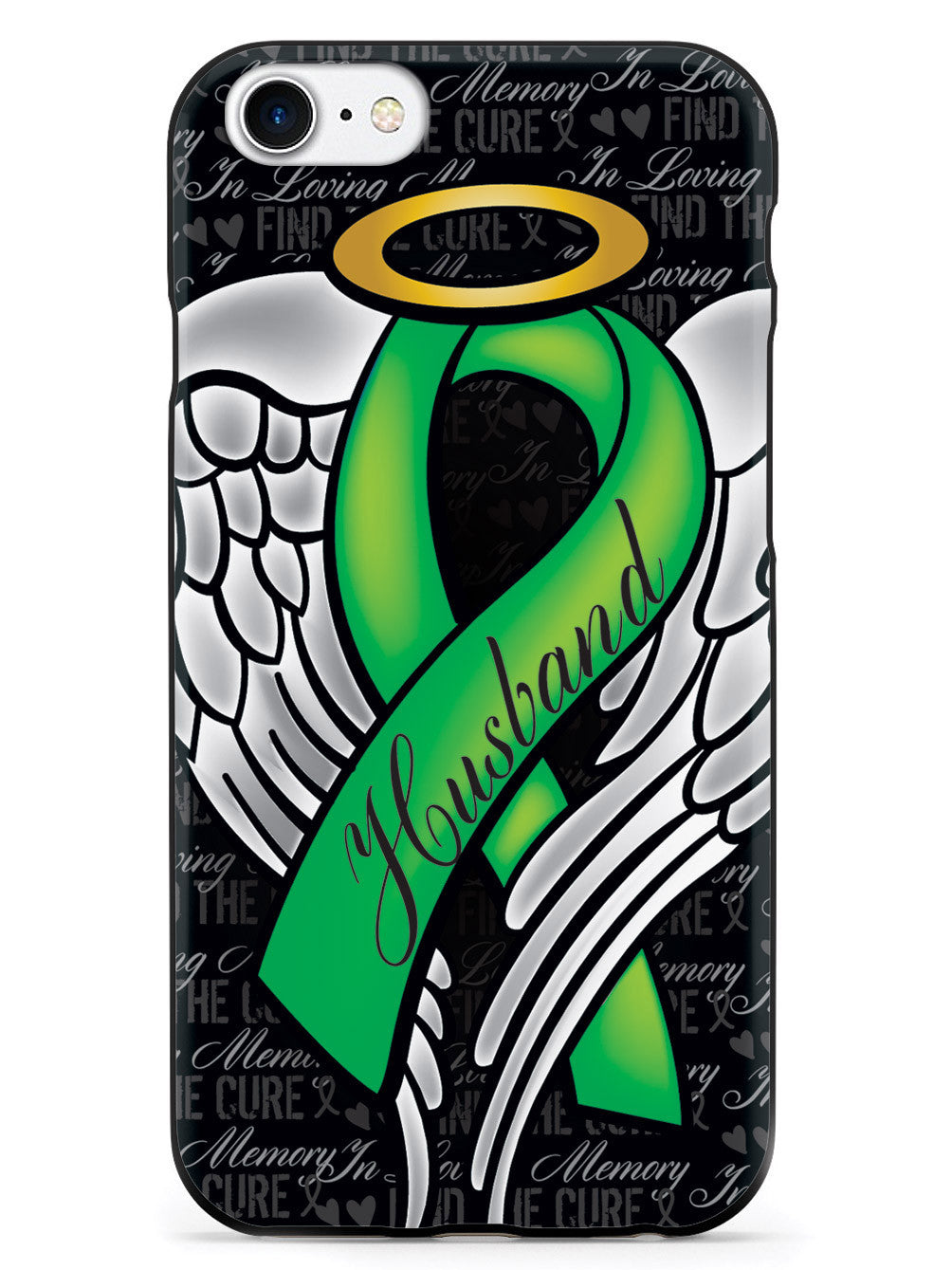 In Loving Memory of My Husband - Green Ribbon Case
