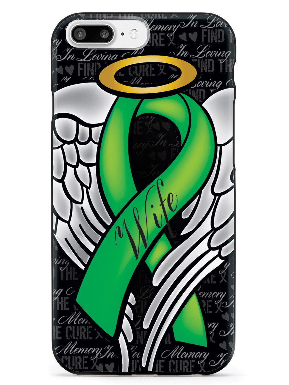 In Loving Memory of My Wife - Green Ribbon Case