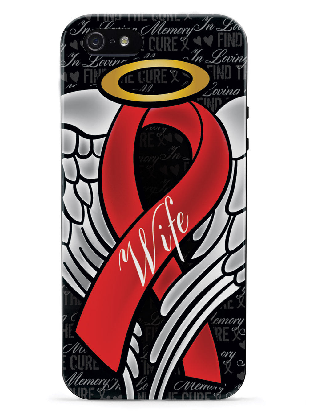 In Loving Memory of My Wife - Red Ribbon Case