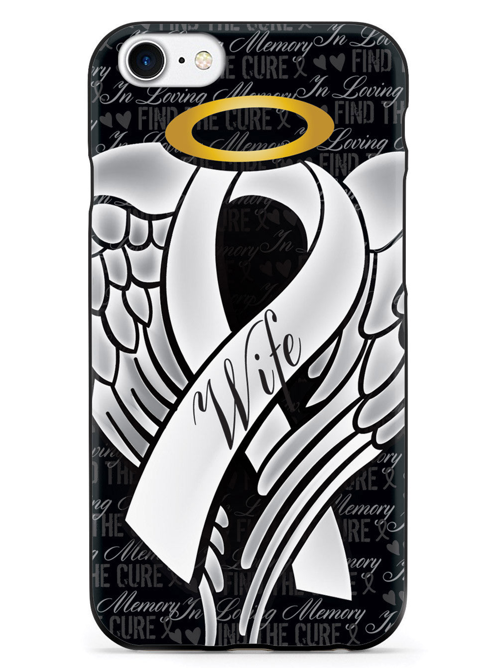 In Loving Memory of My Wife - White Ribbon Case