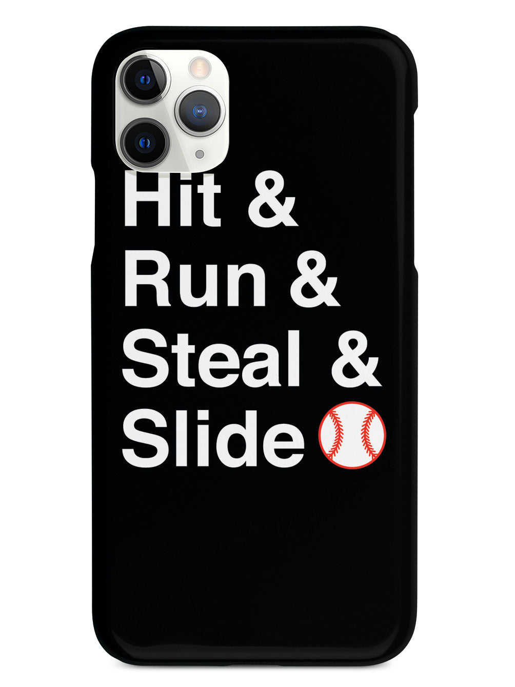 Hit & Run & Steal & Slide - Baseball Case