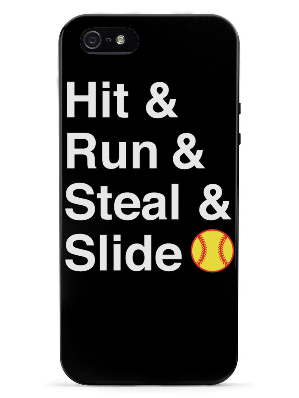 Hit & Run & Steal & Slide - Softball Case