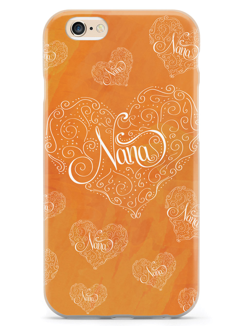 Nana Doodle Heart - Orange Case