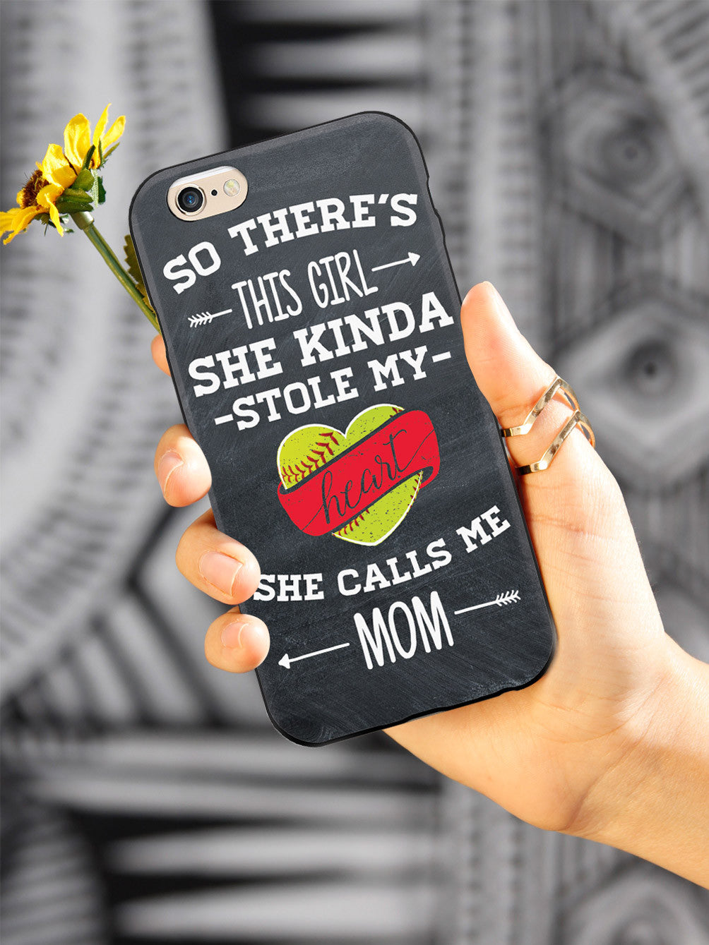 So There's This Girl - Softball Player - Mom Case