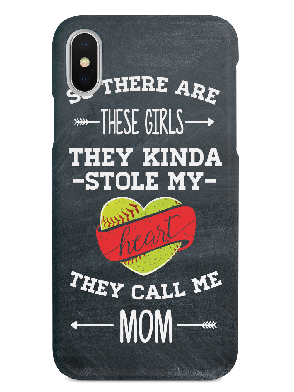So There Are These Girls - Softball Player - Mom Case