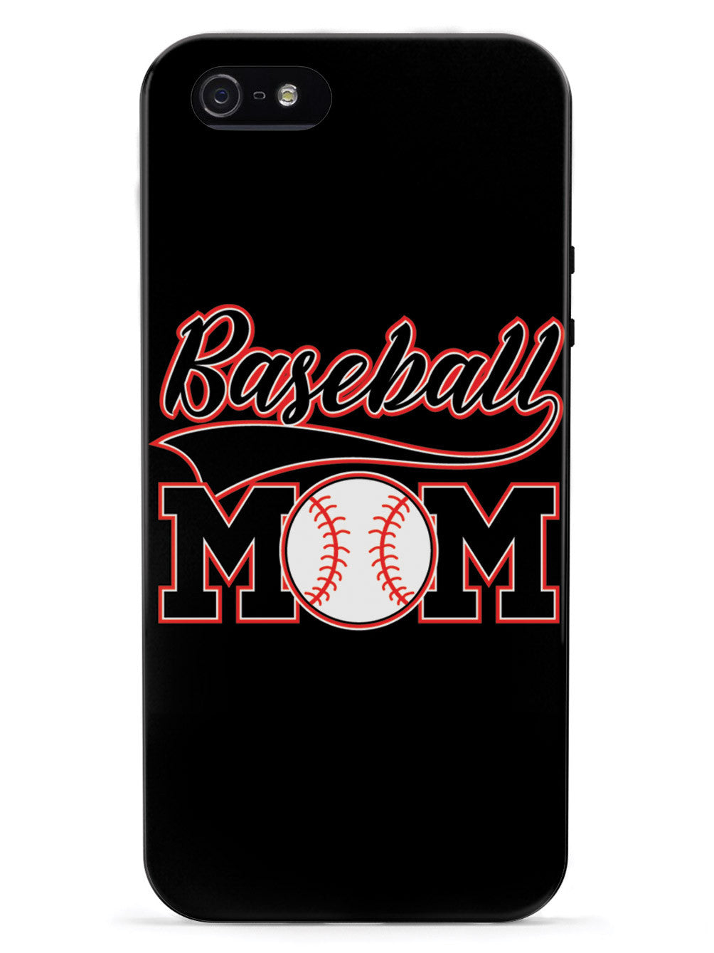 Baseball Mom - Black Case