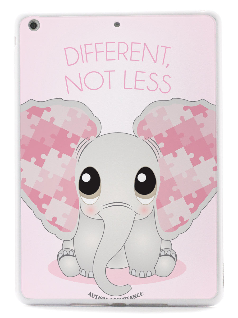 Different, Not Less - Elephant - Autism Awareness Case