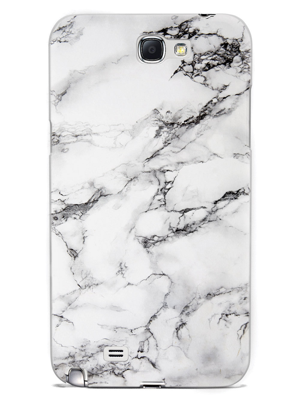 Textured Marble - Black & White Case