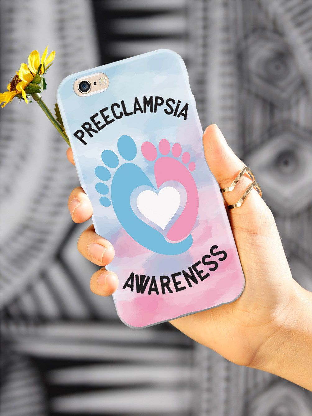Preeclampsia Awareness - Footprints Case