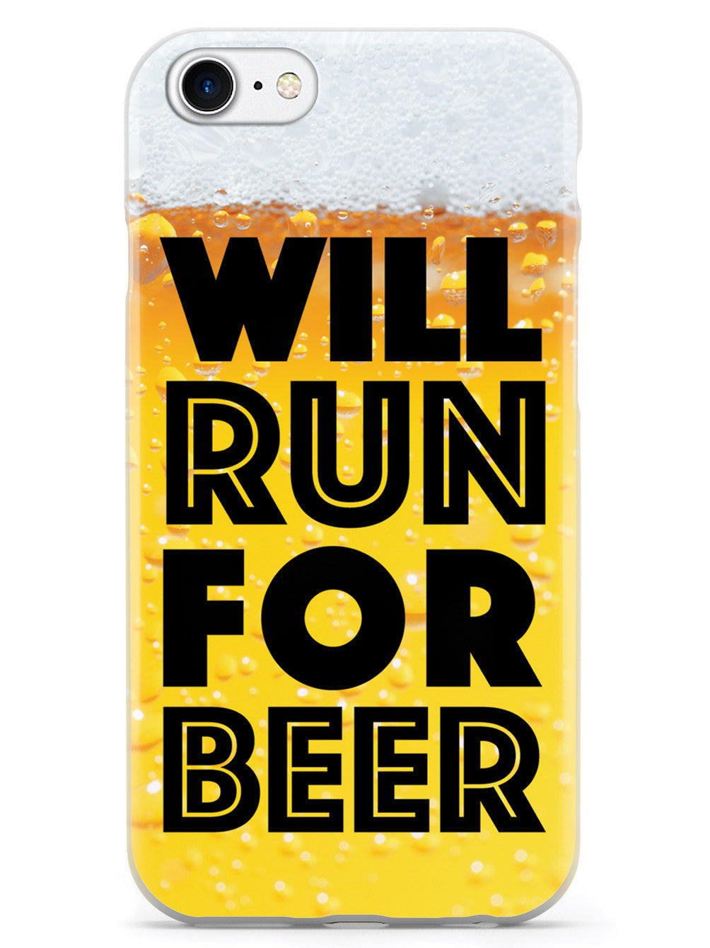Will Run For Beer - Beer Drinkers Case
