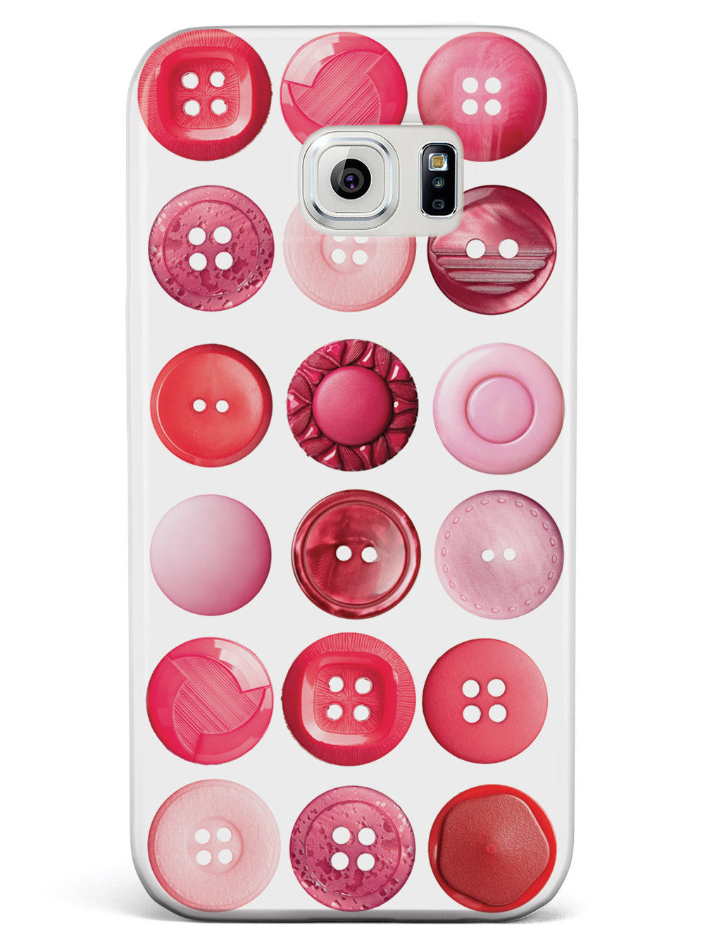 Pink Buttons Case