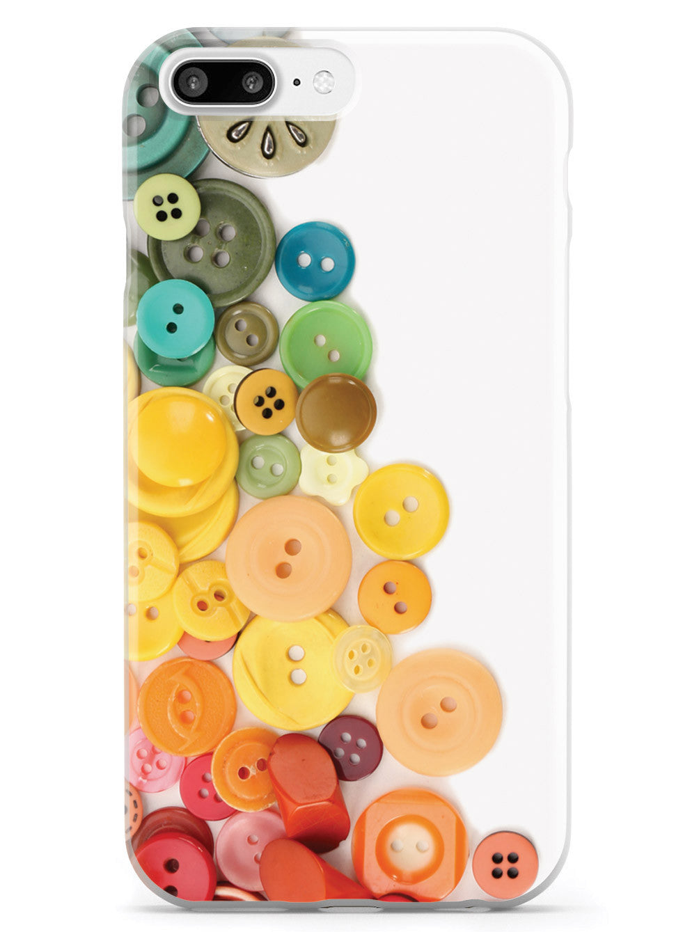 Rainbow Buttons Case