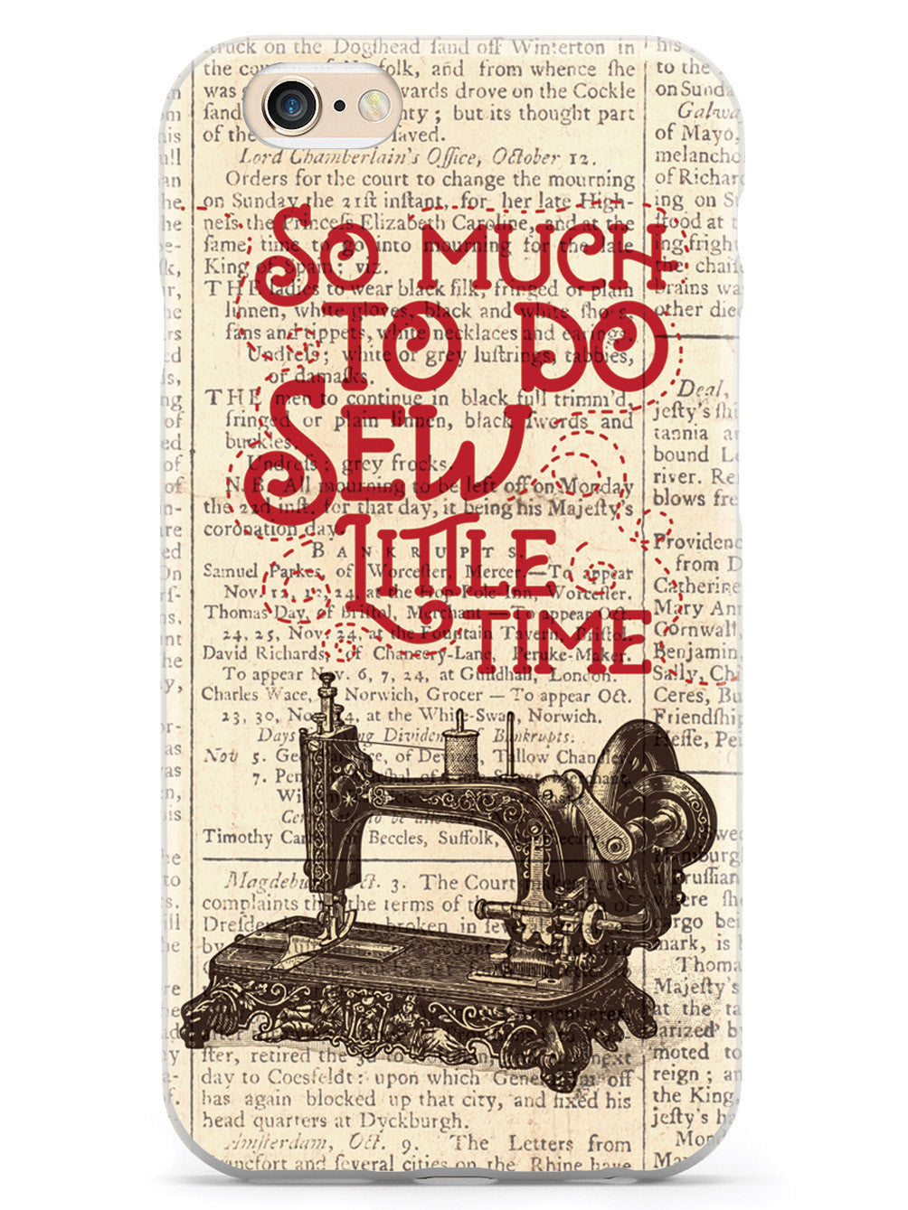 So Much To Do, Sew Little Time Case