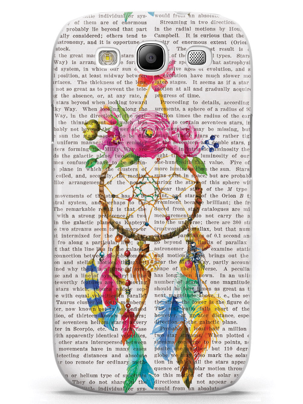 Dreamcatcher Art - Vintage Dictionary Page Case